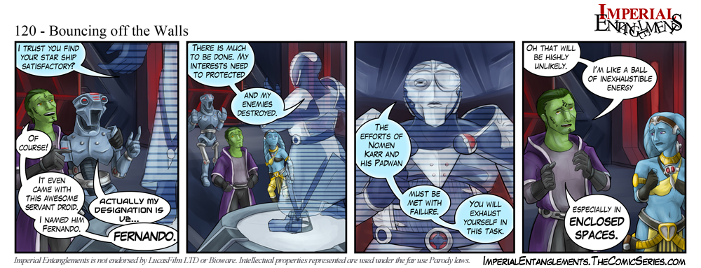 imperial entanglements a fan made star wars parody web comic